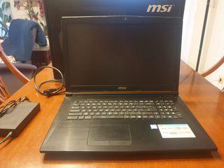 PC PORTATIL GAMING MSI CX72 6QD-080XES