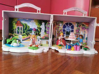 Maletin princesa de cumpleaños playmobil