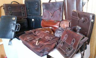 Maletines y carteras de colegio antiguos o vintage