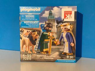 Playmobil 70315 Enrique el León y Esposa.