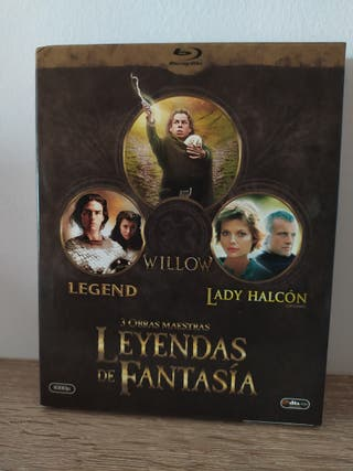 WILLOW-LEGEND-LADY HALCÓN EN BLU-RAY