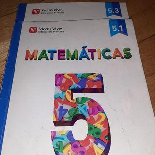 libro matemáticas 5 primaria
