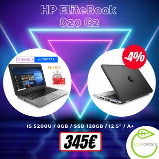 ¡¡¡ HP EliteBook 820 G2 !!!