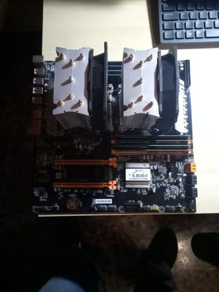 Placa Base doble CPU socket X99