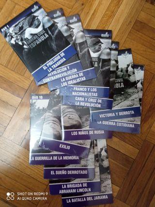 Colección completa 13 DVDs Guerra Civil Española