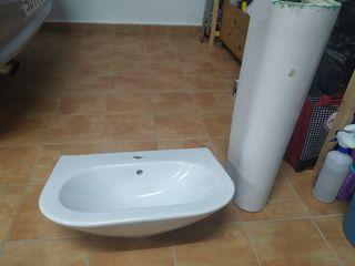 lavabo de pie de porcelana Bellavista