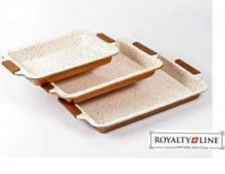 Set Bandejas de cerámica con tapa para transporte