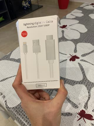 Cable hdmi iPhone-tv