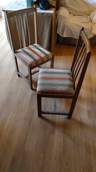 sillas d madera