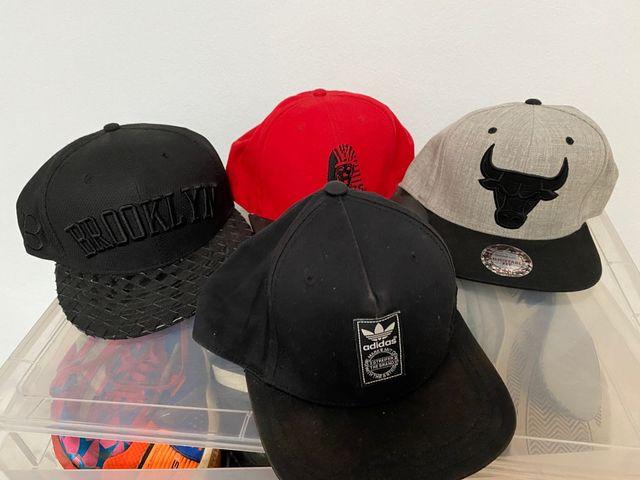Gorras planas Nike, Chicago, Indians, Adidas