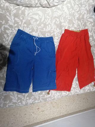 Dos pantalones Tex de 10 años