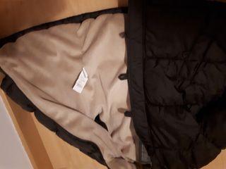 Abrigo de niña marrón chocolate