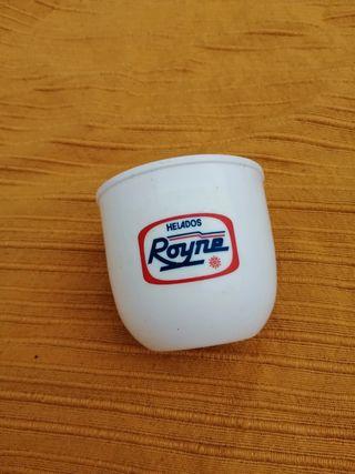 Antiguo vaso helados Royne