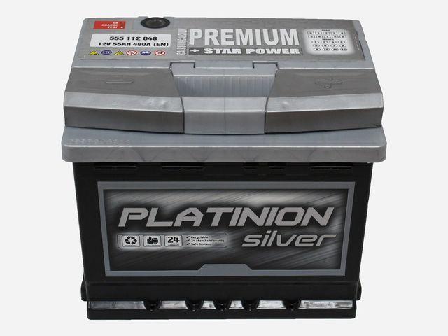 Batería de coche 55Ah | PLATINION
