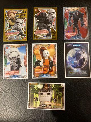 Cartas lego star wars