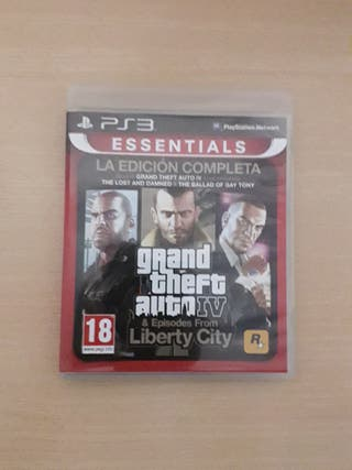 GTA IV Y SUS EXPANSIONES (PS3)