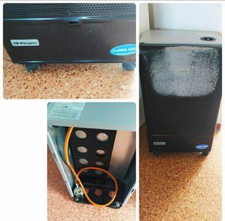 calefactor de gas