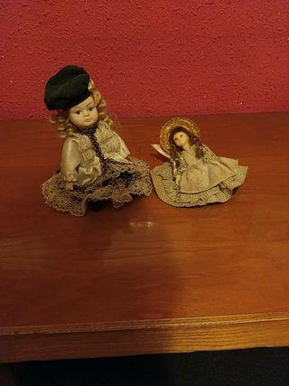 Muñecas clásicas de porcelana