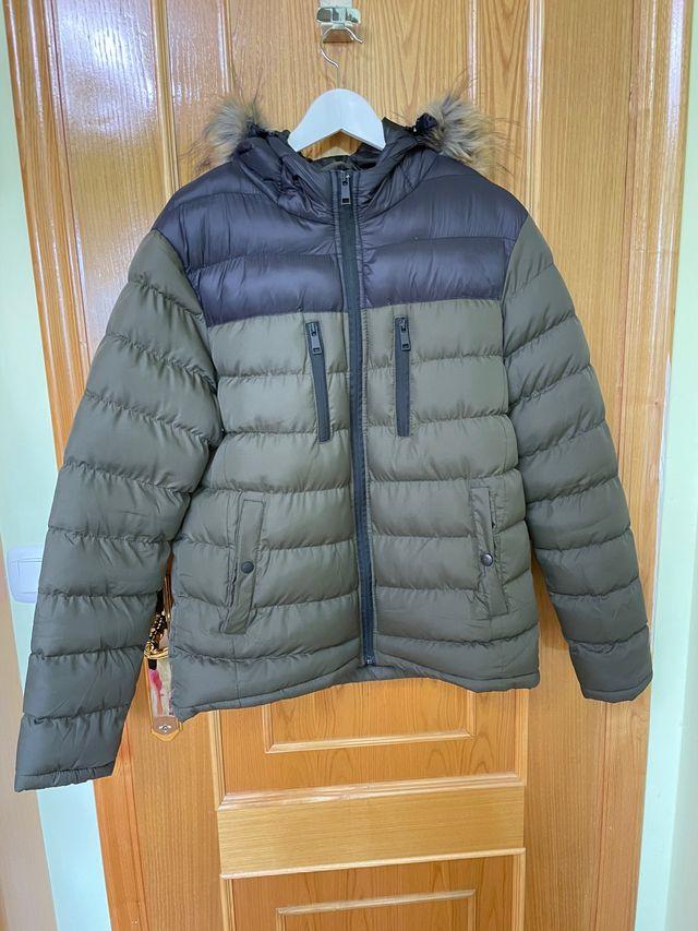 Chaqueta-Abrigo de plumas hombre