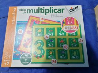 juguete tablas de multiplicar diset