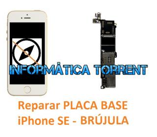 Reparar Placa Base IPhone SE BRÚJULA