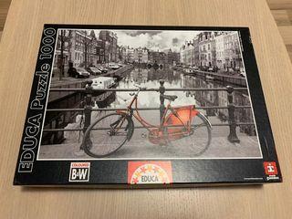 Puzzle bicicleta Ámsterdam!