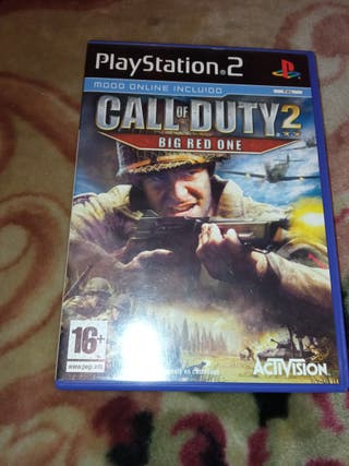 CALL OF DUTY PLAYSTATION 2
