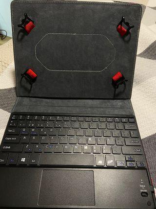 Funda con teclado magnético Bluetooth