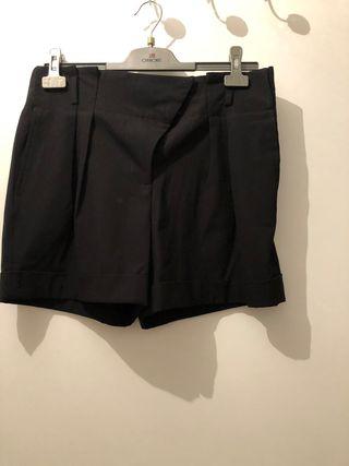 Pantalón corto negro