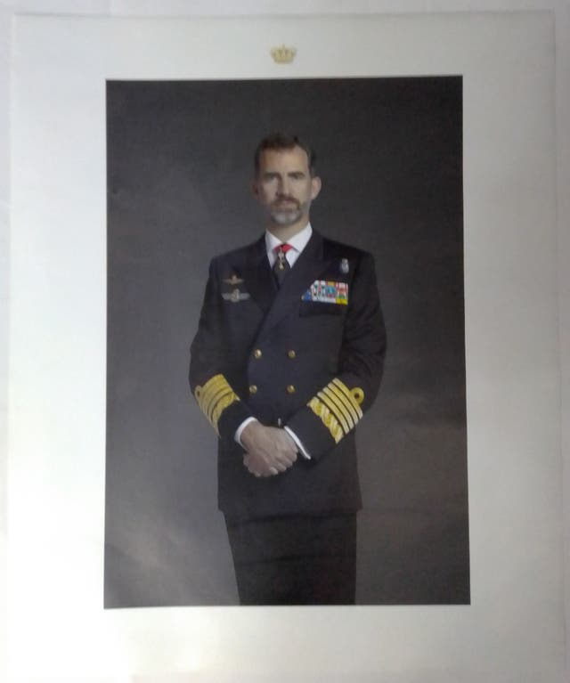 Retrato SM Rey Felipe VI