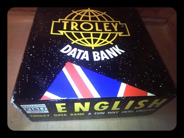 Juego Trivial Inglés Trolley Data Bank