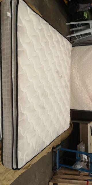 LIQUIDACIÓN de colchón 200x200cm 22cm grosor