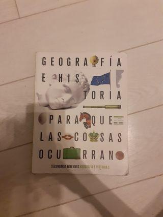 Libro Geografia e historia 3Eso