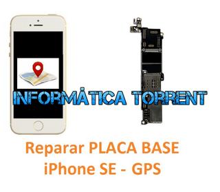 Reparar Placa Base IPhone SE GPS