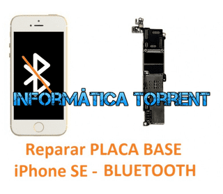 Reparar Placa Base IPhone SE BLUETOOTH