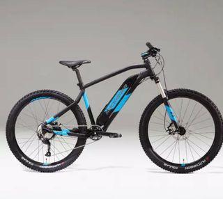 Bicicleta Rockrider eléctrica de montaña BTT, MTB