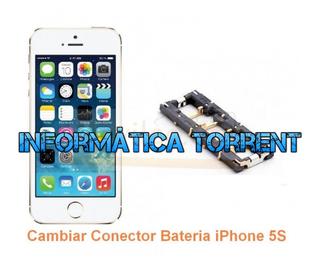 Cambiar Conector Bateria IPhone 5S