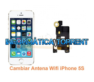 Cambiar Antena Wifi IPhone 5S