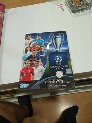 álbum de la Champions 2015/2016