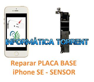 Reparar Placa Base IPhone SE SENSOR