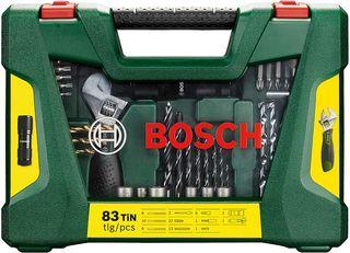 Maletín Bosch de 83 brocas y puntas NUEVO