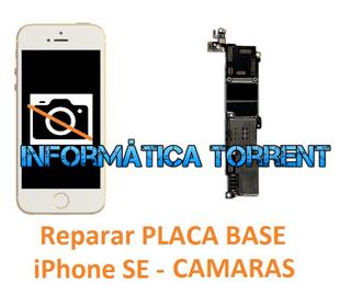 Reparar Placa Base IPhone SE CÁMARAS