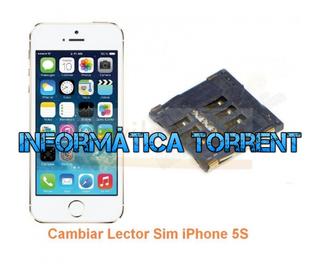 Cambiar Lector Tarjeta Sim IPhone 5S