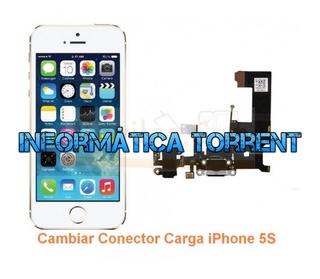 Cambiar Conector Carga IPhone 5S