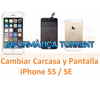 Cambiar Carcasa Chasis Y Pantalla IPhone 5S / SE