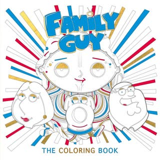 Family Guy - Colouring Adult Book - Brand New
