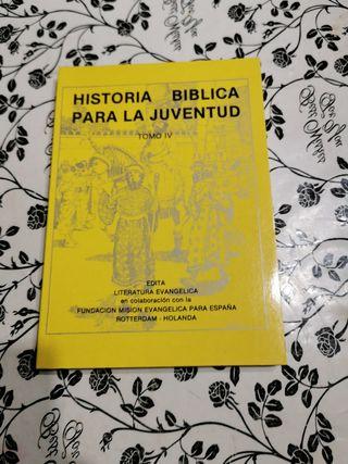 historia bíblica para la juventud tomo 4 del Antig