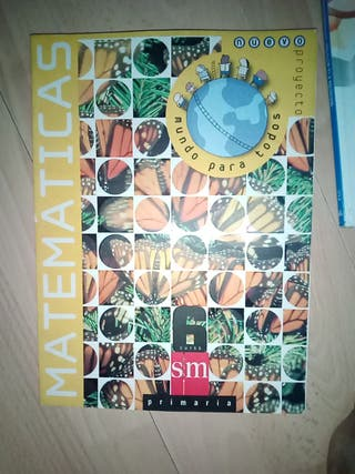 libro de matemáticas primaria mundo para todos