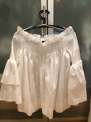 Camisa hombro descubierto Uterque