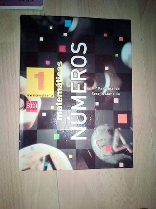 libro matemáticas números autora M paz Bujanda